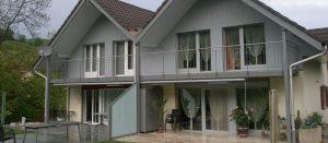 Bild Reihenhaus Fassade